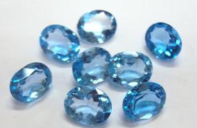 2 - Topázio Azul - 7mm X 5mm