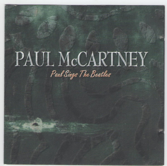 Cd Paul Mccartney - Paul Sings The Beatles - Importado