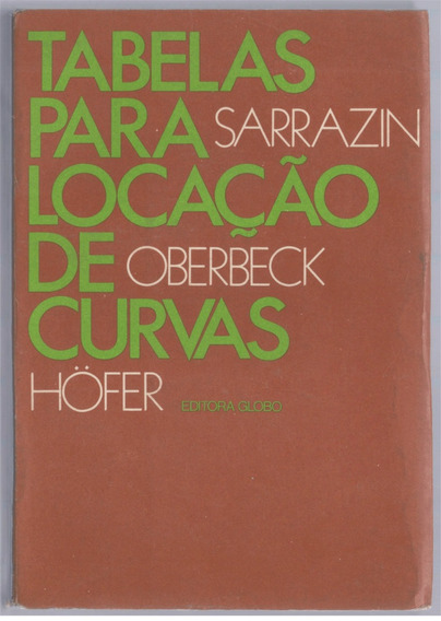 Tabelas Para Locação De Curvas - Sarrazin Oberbeck Höfer