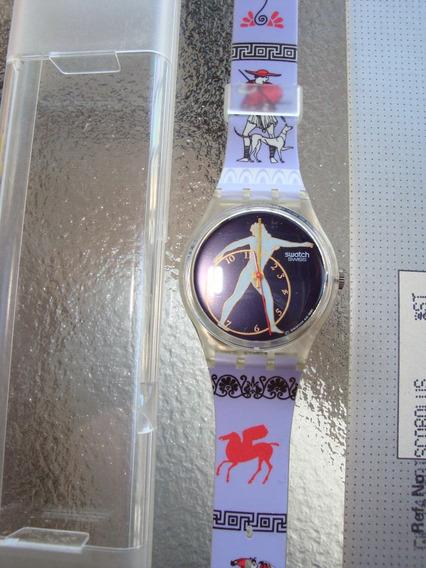 N14 Relógio Swatch Modelo Discobulus De Colecao Nao Usado