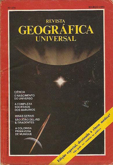 Revista Geográfica Universal - Munique - Tiradentes -babuíno