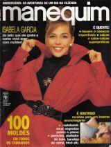 Cl Manequim 379 * Jul/91 * Isabela Garcia