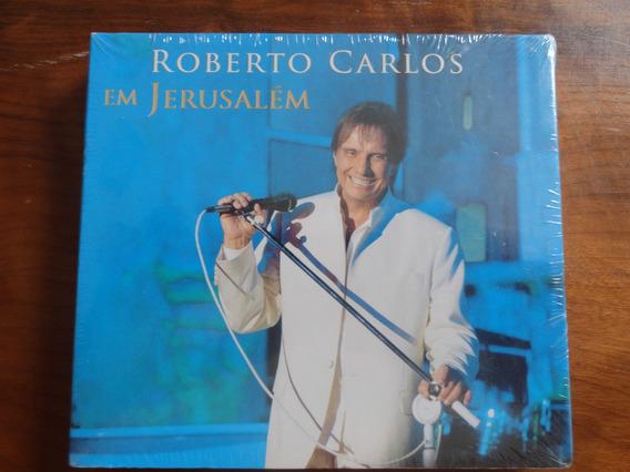 Cd Duplo Roberto Carlos - Em Jerusalém Lacrado