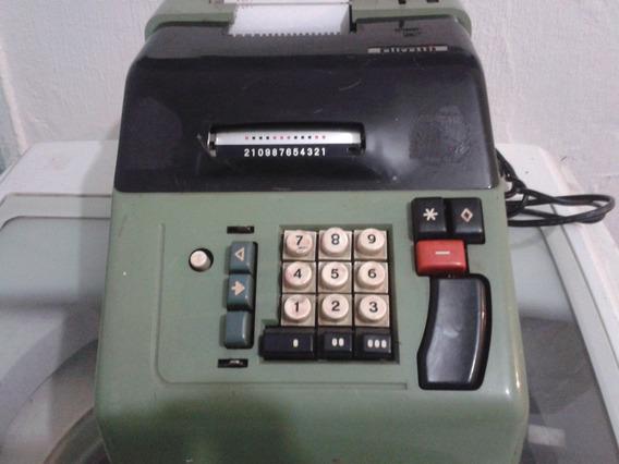 Calculadora Elétrica Antiga Olivetti Em São Paulo