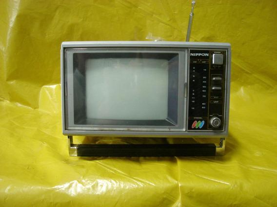 Tv 5 Colorida Nippon - C/ Radio Fm-am - 12 V - Mineirinho -