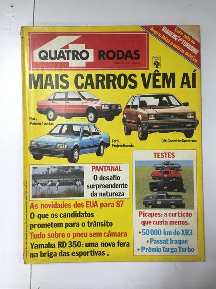 Revista Quatro Rodas Nº 315 Outubro 1986 Abril