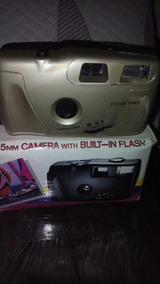 Camera With Built In Flesh 35mm