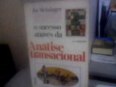 O Sucesso Através Da Análise Transacional Jut Meininger