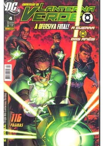 Revista: Dimensão Do Lanterna Verde - A Ofensiva Final