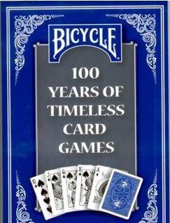 Livro 100 Years Of Timeless Card Games Bicycle Jogos Cartas