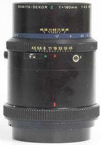 Objetiva Mamiya-sekor Z 180mm 4.5 W Novíssima