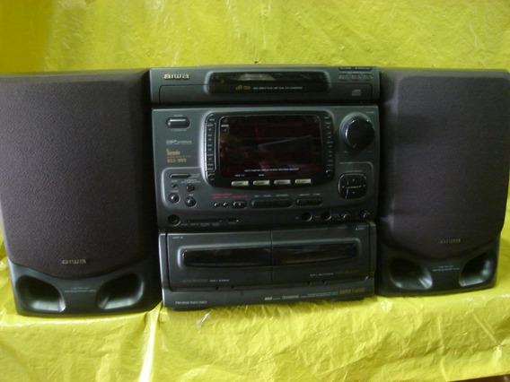 Micro-system Aiwa Nsx-999 - Impecavel - U. Dono - Mineirinho