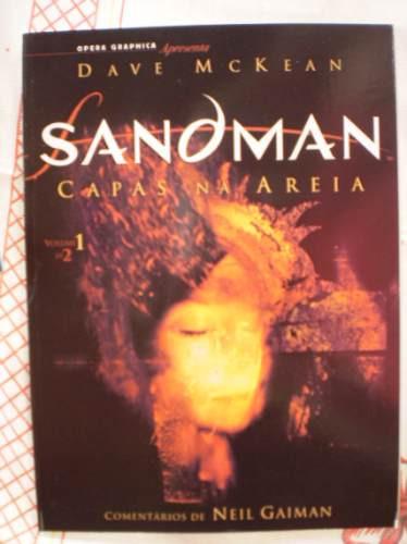 Sandman Capas Na Areia Volume 1