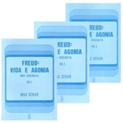 Livros Freud: Vida E Agonia (uma Biografia) 3 Vols Max Schur