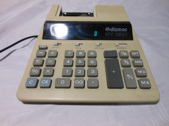 Calculadora De Mesa Dismac Hy 2501 - Funcionando