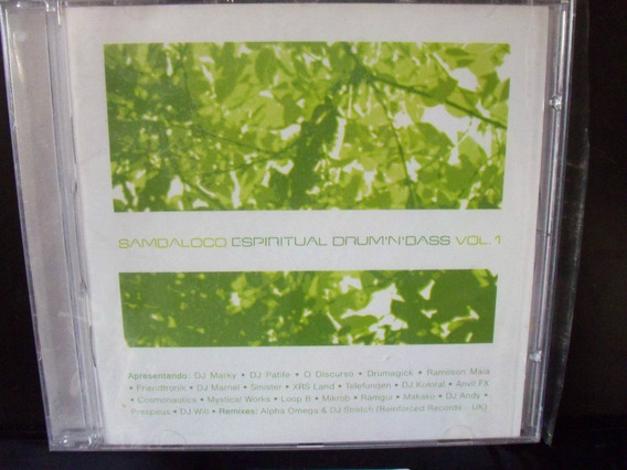 Cd Sambaloco Espiritual Drum