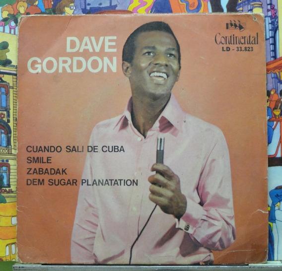 Dave Gordon Cuando Sali De Cuba - Compacto Vinil Continental