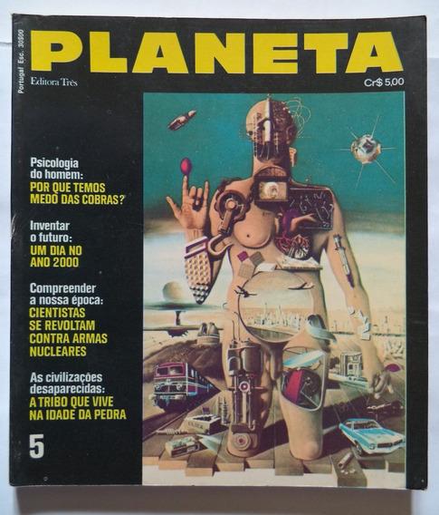 Revista Planeta Nº 5 Janeiro De 1973 Rara