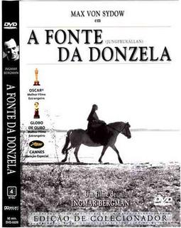 Dvd A Fonte Da Donzela, De Ingmar Bergman Max Von Sydow +