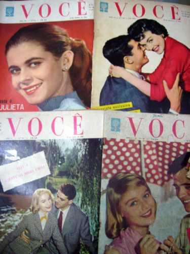 Você Revista Semanal Feminina Nº 139 Fotonovelas Abril 1959