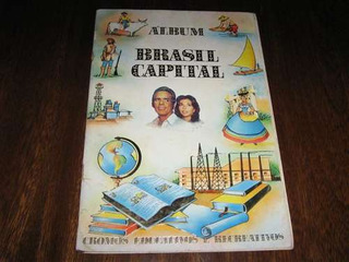 Album Brasil Capital Ed Saravan 1970 Completo/original/impre