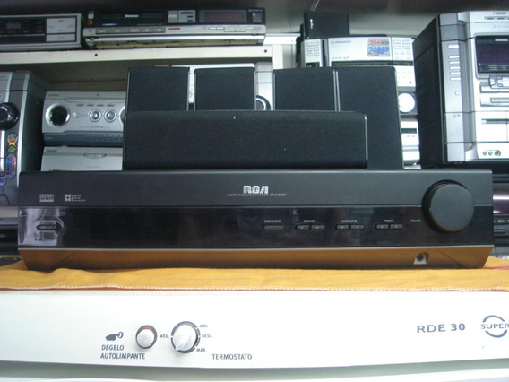 Home-theater Rca - Rt-2380k - C/ 5 Cxs+sub - 4.000 W - Pmpo.