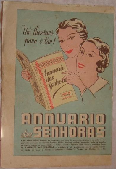 Propaganda Anuario Das Senhoras Publicação Revista Cinearte.