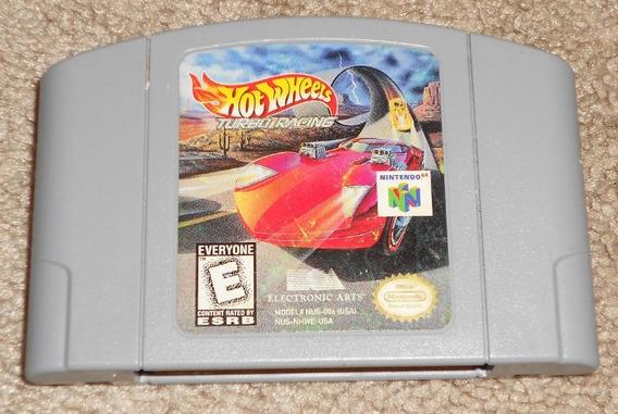 N-64: Hot Wheels Turbo Racing Original Americano!! Novinho!!