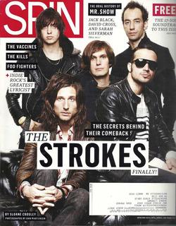 Revista Spin: The Strokes / Interpol / The Cure / Moretti