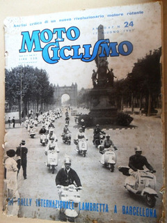 V175 Peça Revista Antiga Lambretta Tv175 Ld150 Li150 Std150.
