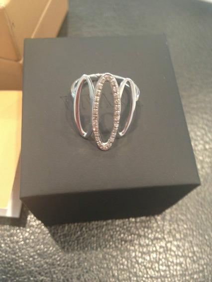 Ivi1388 = Anel Vivara Diamantes O.branco 18k !!!