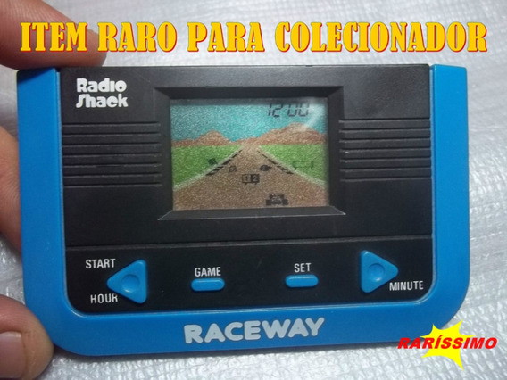 Mini Game Antigo Do Paraguay - Raceway Da Radio Shack