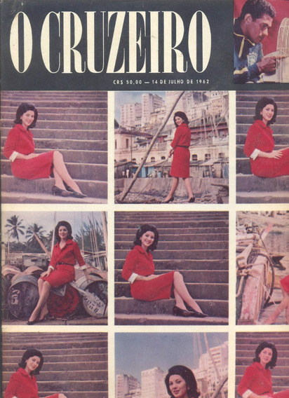 O Cruzeiro N° 40 - 1962 - Miss Brasil / Garrincha / Paraná /