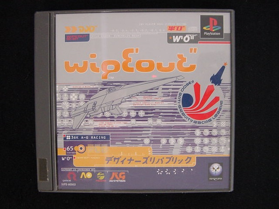 Ps1 - Wipeout (japonês)