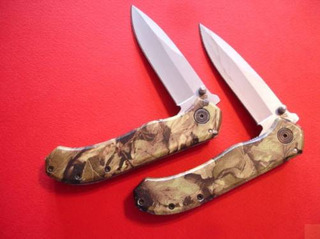 @ab 1015 - Canivete Camuflado Dakota Linerlock Drop Point