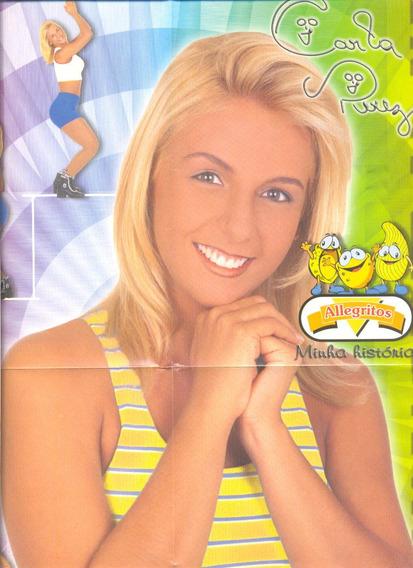 *sll* Álbum Poster Carla Perez Minha História Salgadinhos