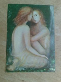 Cartão Postal - Duas Figuras - Bibiana Calderon