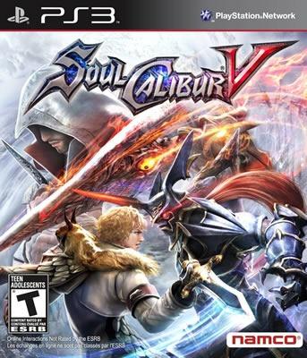 Playstation 3 Soul Calibur V - Novo - Lacrado