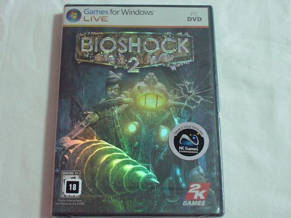 Jogo Para Pc Bioshock 2 Novo Lacrado Original