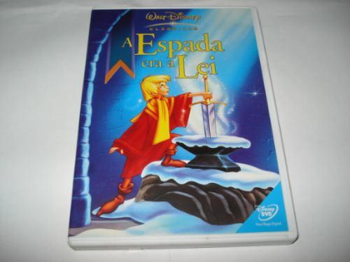 Dvd Infantil Disney A Espada Era A Lei