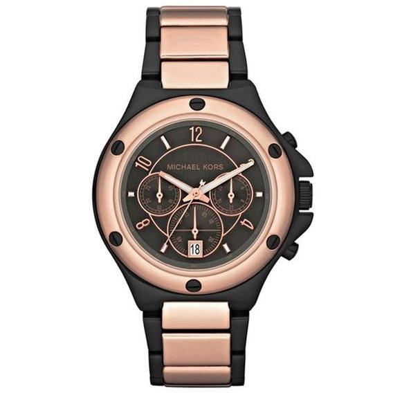 Relógio Luxo Michael Kors Mk5514 Orig Chronograph Anal