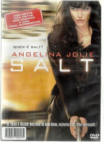 009 Fdv- Dvd Filme- 2010 Salt Angelina Jolie - Espionagem