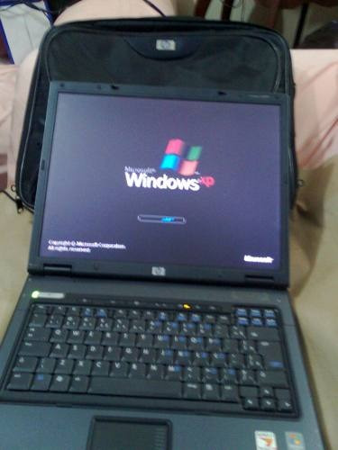 Notebook Hp Amd Turion 64- X2 Mem 1 Giga, Hd100 Fonte