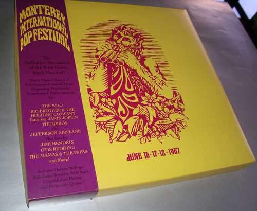 Monterey Pop Festival, 1967 - Box Com 4 Cds E Revista Imp