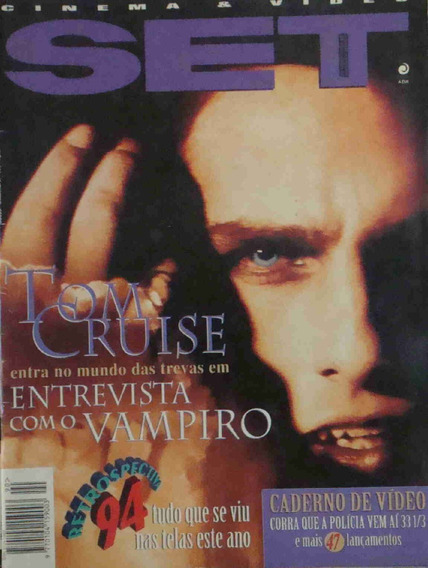 Revista Set Ano 8 No. 12 Tom Cruise Dezembro De 1994