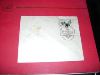 Envelope Com Selo Brasil Correio 1955 ; Varig