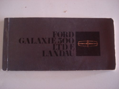 Galaxie Landau Ltd 79 Manual Original