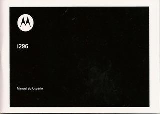 Manual Motorola I296