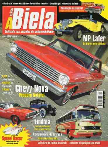 Revista A Biela Nº44 Mp Lafer Chevy Nova Ônibus Mercedes
