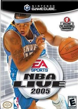 Game Cube Nba Live 2005 - Original - Usado